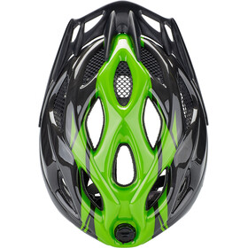 KED Tronus Helmet black green